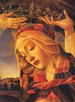 5-627. Sandro Botticelli. The Madonna of the Magnificat. Размеры: 30x40, 40x50, 50x60, 60x80см.