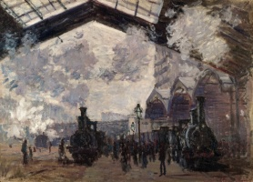 5-614. Monet Oscar-Claude. The Gare St-Lazare.