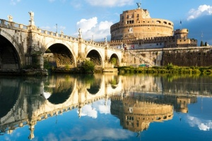 20-016. Италия, Рим, Castel saint Angelo.