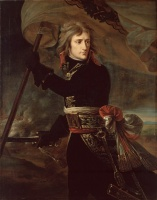 5-642. Gros Antoine-Jean. Napoleon Bonaparte on the Bridge at Arcole.
