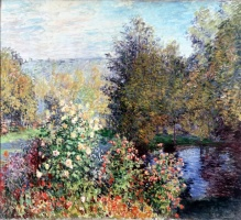 5-618. Monet Oscar-Claude. Corner of the Garden at Montgeron.