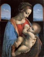 5-635. Leonardo da Vinci. The Madonna and Child.