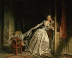 5-609. Fragonard Jean-Honore. The Stolen Kiss.