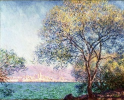 5-613. Monet Oscar-Claude. Morning at Antibes.