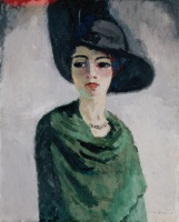 5-643. Van Dongen Kees. Woman in a Black Hat.
