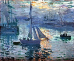 5-617. Monet Oscar-Claude. Восход.